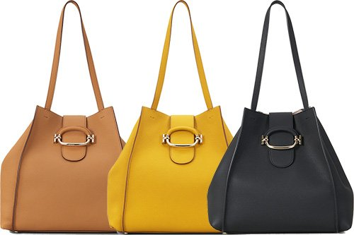 Tods Double T Shopping Bag With Ring thumb