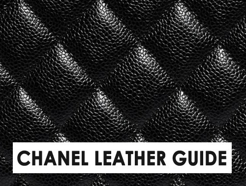chanel leather guide