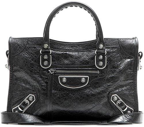 Balenciaga Classic Metallic Edge City Bag thumb