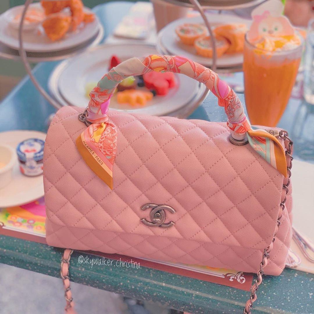Chanel Silk Twill For Your Handbag