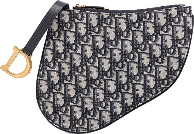 Dior Saddle Clutch With Strap