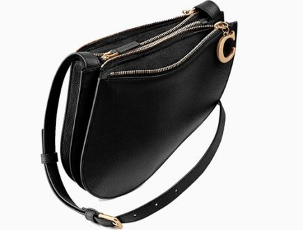 Dior Saddle Clutch With Strap thumb