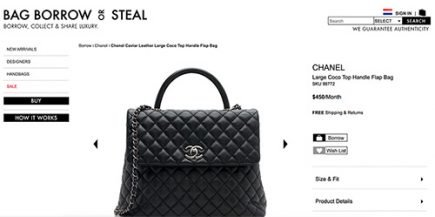 How To Rent A Chanel Bag thumb