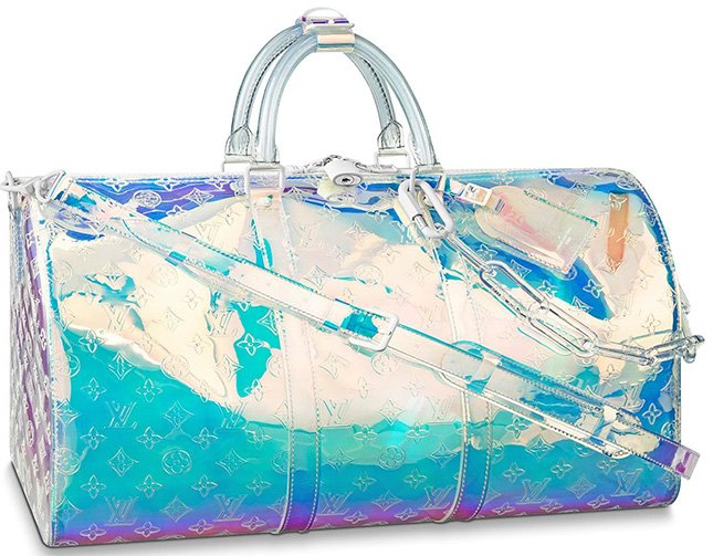 Louis Vuitton Introduces KeepAll Prism Bag
