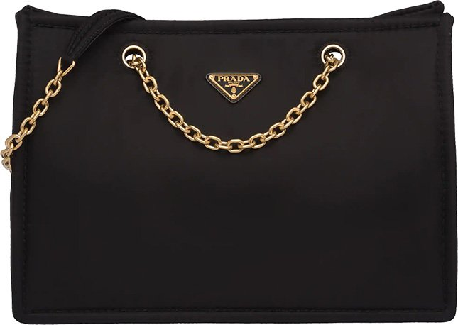 Prada Nylon Shoulder Bag And Tote Bag