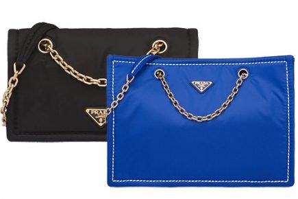 Prada Nylon Shoulder Bag And Tote Bag thumb