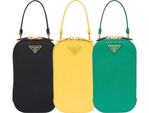 Prada Vertical Mini Saffiano Bag thumb