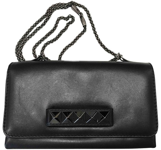 Valentino All Black Bags