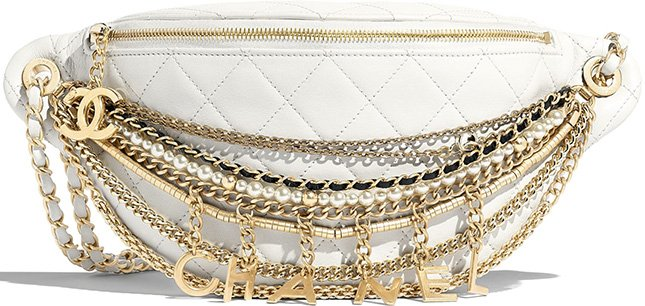 Chanel All About Chains Waist Bag