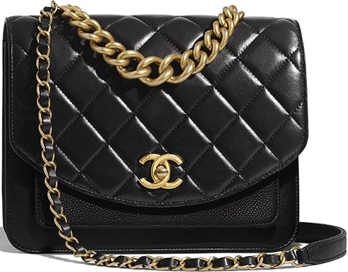 Chanel Chain Handle Flap Bag thumb