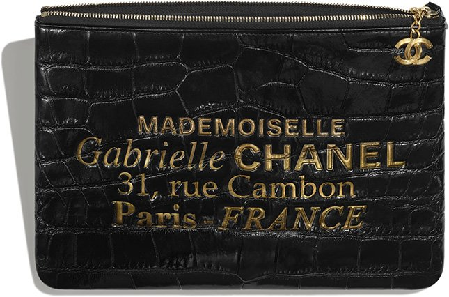 Chanel Mademoiselle Gabrielle Signature Pouches