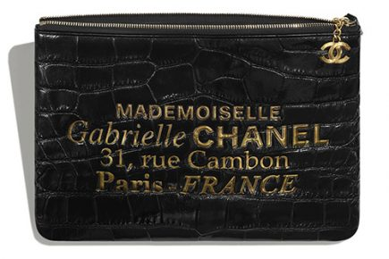 Chanel Mademoiselle Gabrielle Signature Pouches thumb