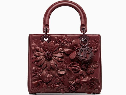 Dior Embroidered Flowers On Bag Collection thumb