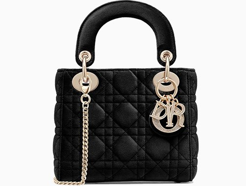 Dior Launches The Lady Dior Bag In Velvet thumb