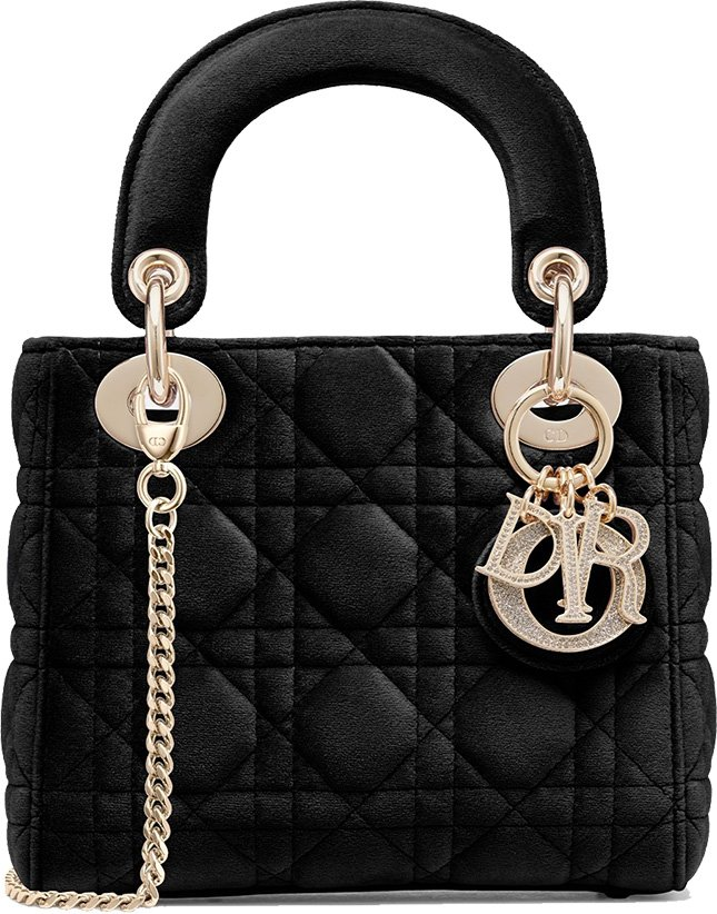 Dior Launches The Lady Dior Bag In Velvet