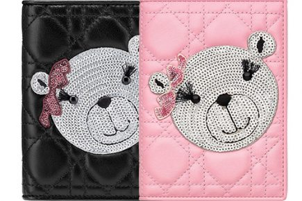 Dior TeddyBear Passport Holder thumb