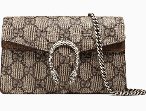 Gucci Super Mini Dionysus GG Supreme Bag thumb