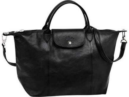 Longchamp Le Pliage Cuir Bag thumb