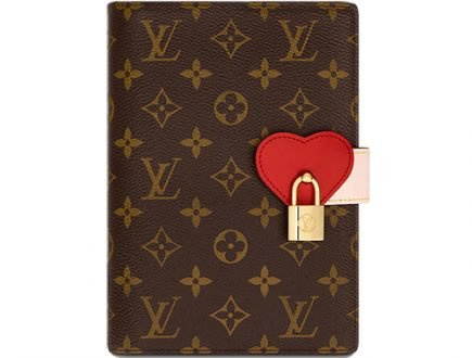 Louis Vuitton Lockme Notebook Cover thumb