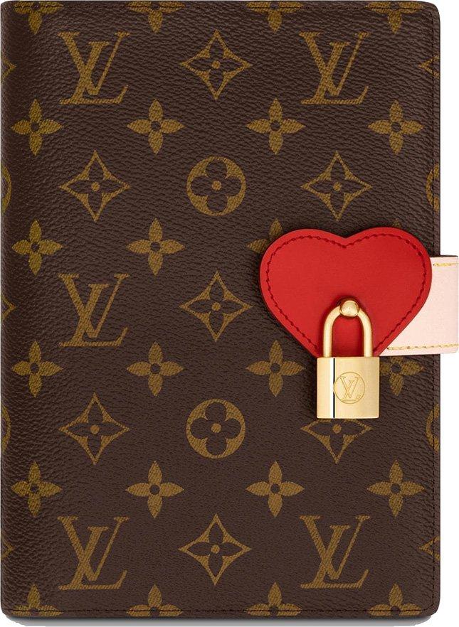 Louis Vuitton Lockme Notebook Cover