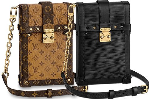 Louis Vuitton Pochette Trunk Verticale Bag thumb