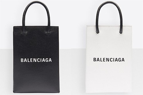 Balenciaga Shopping Bag Phone Holders thumb