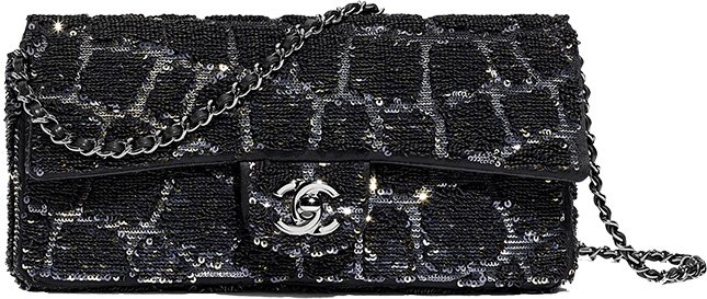Chanel East West Flap Bag Retro