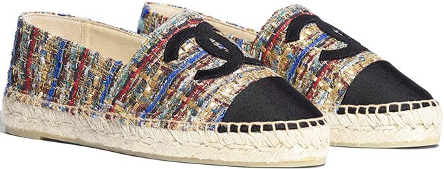 Chanel Flats Espadrilles Pre Fall Collection