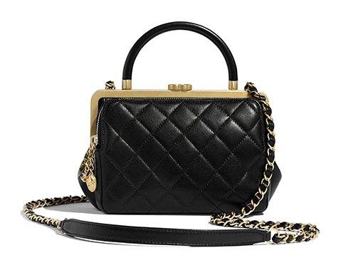 Chanel Kiss lock Bag thumb