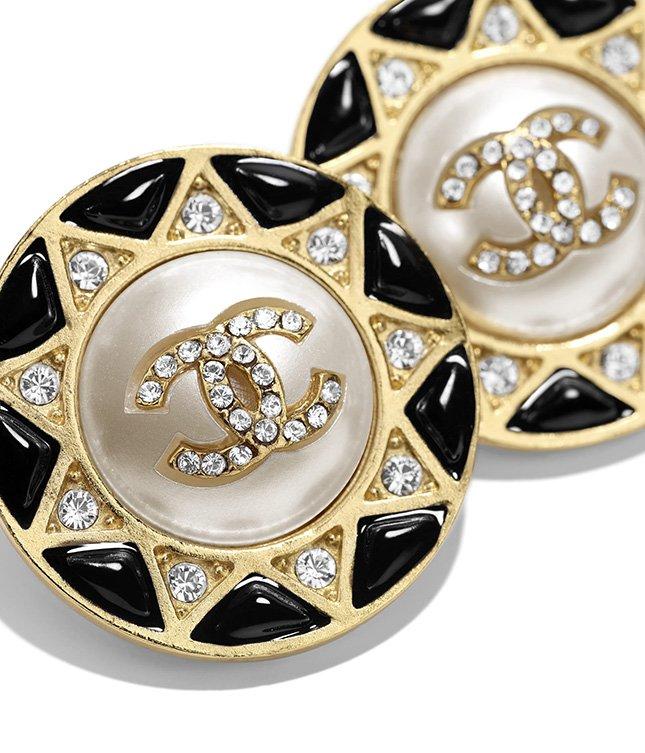 Chanel Pre Fall Earrings