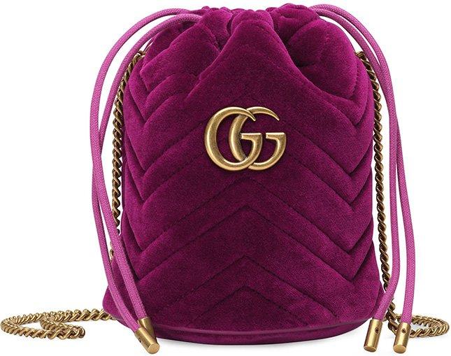 Gucci GG Marmont Bucket Bag