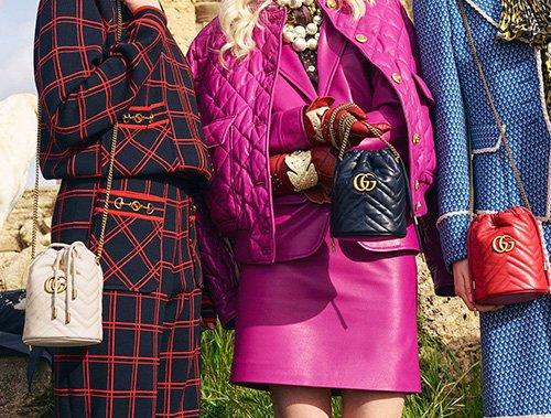 Gucci GG Marmont Bucket Bag thumb