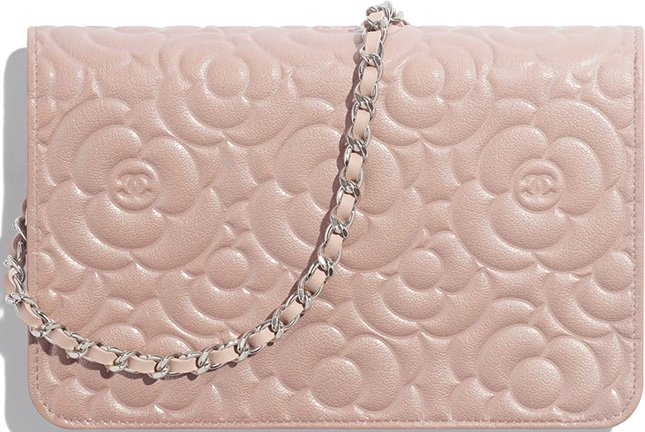 Chanel Camellia WOC with Camellia Charm