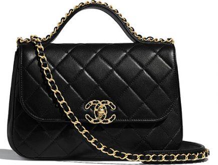 Chanel Chain Infinity Handle Bag thumb