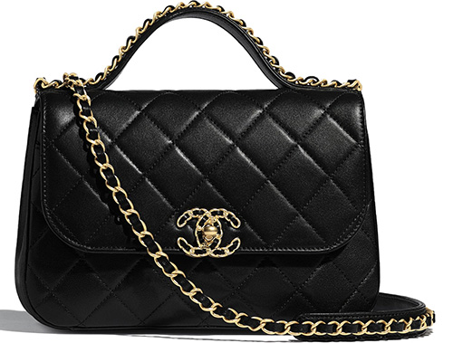 Chanel Chain Infinity Handle Bag thumb