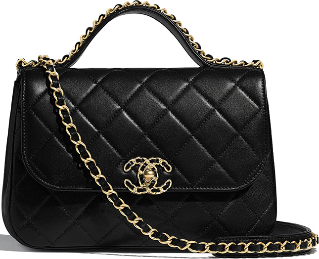 Chanel Chain Infinity Handle Bag