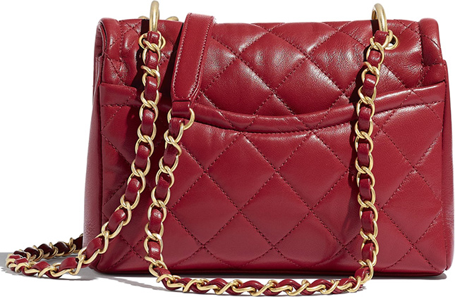 Chanel Chain Leather Link Bag