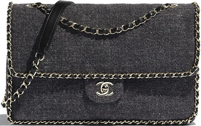 Chanel Coco Neige Chain Around Bag