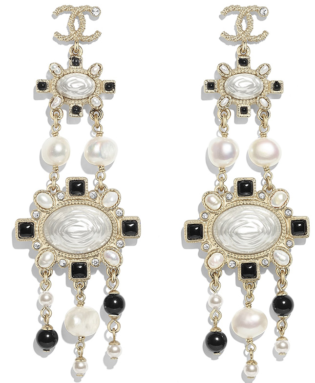 Chanel Fall Winter Earring Collection