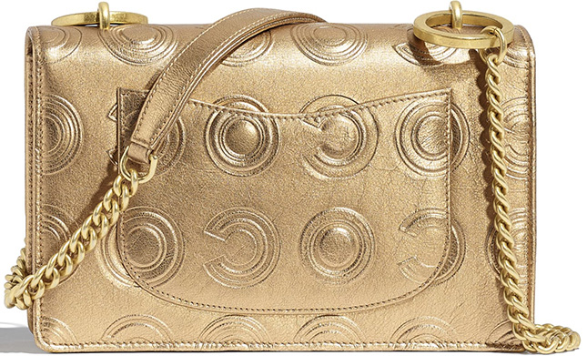 Chanel Gold Circle C Bag