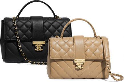 Chanel Golden Class CC Top Handle Bag thumb