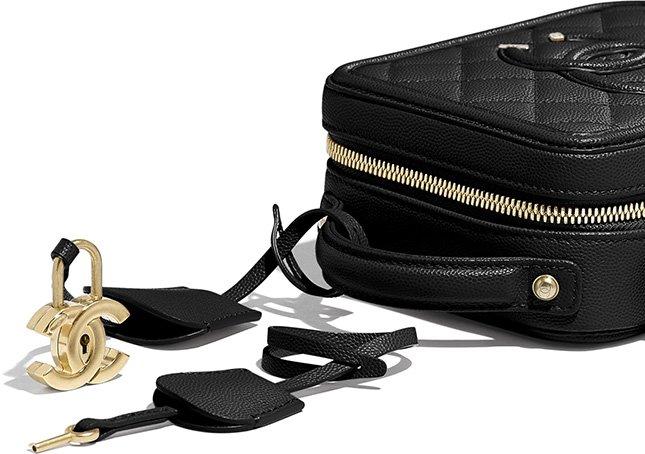 Chanel North South CC Filigree Bag