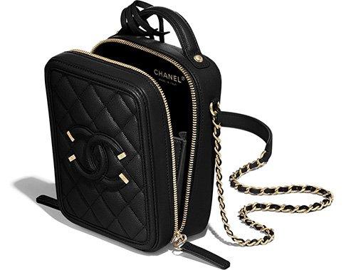 Chanel North South CC Filigree Bag thumb