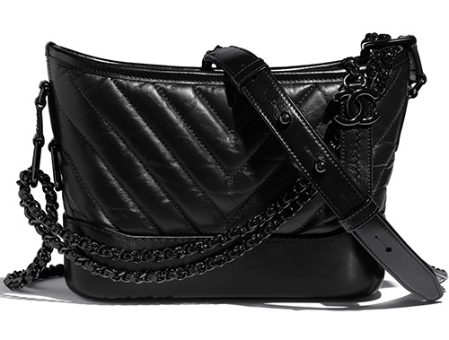 Chanel So Black Gabrielle Bag thumb