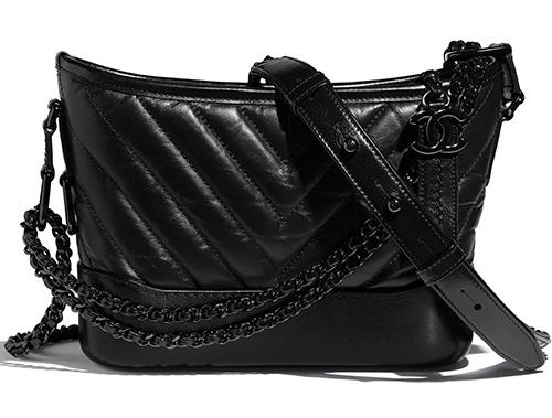 Chanel So Black Gabrielle Bag thumb