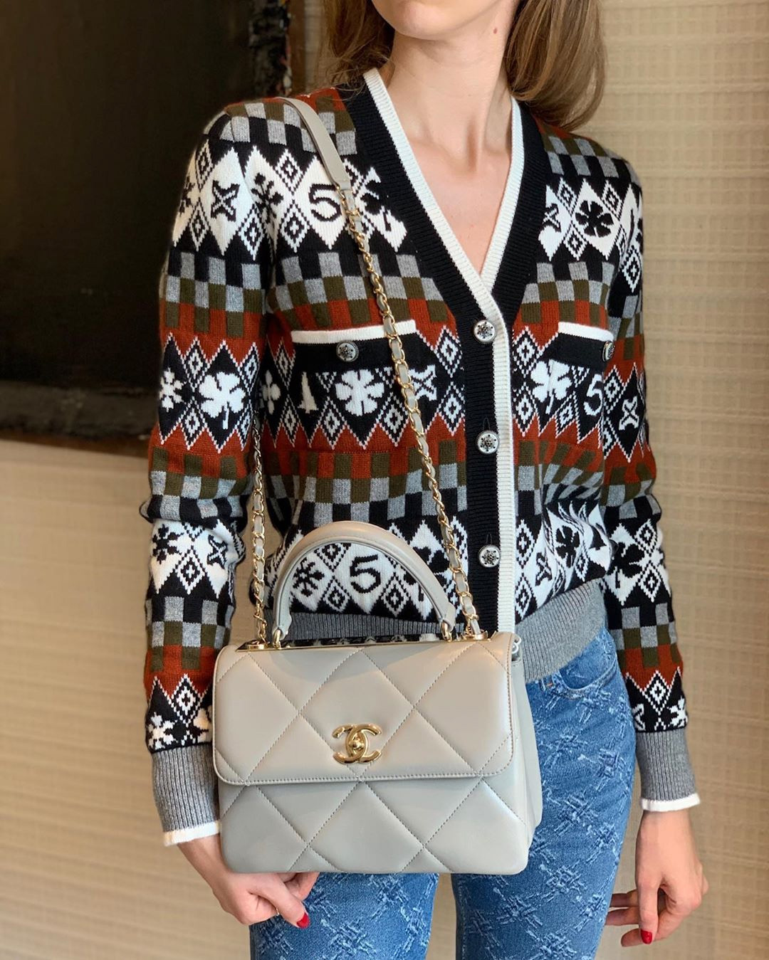 Chanel Trendy CC in Large and Small Quilting