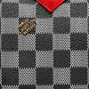 Louis Vuitton Black White Damier Canvas thumb