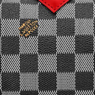 Louis Vuitton Black White Damier Canvas thumb