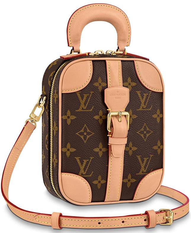Louis Vuitton Mini Luggage Vertical Bag