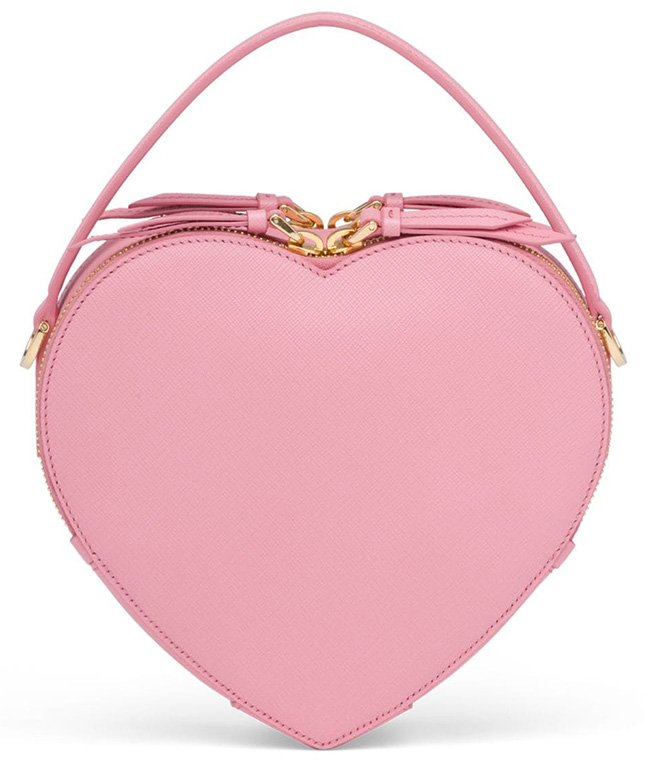 Prada Odette Heart Bag